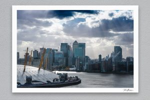 Canary Wharf - London - Framed