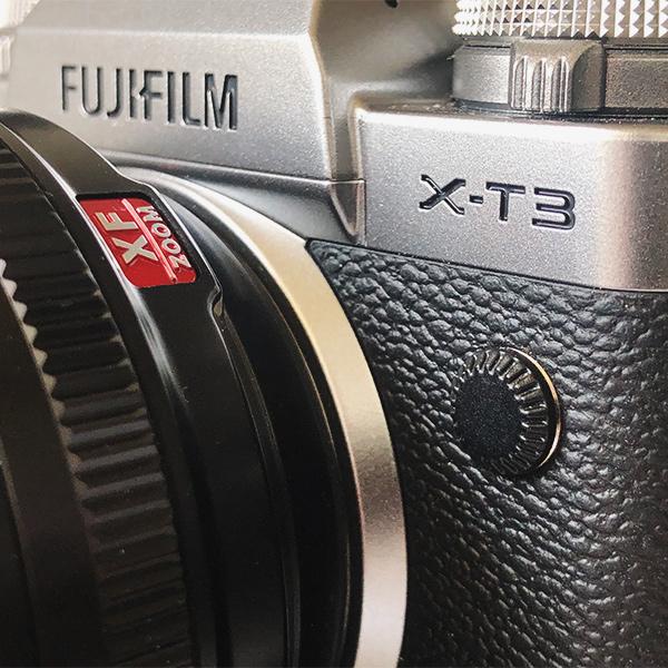 Fujifilm X-T3 in Silver