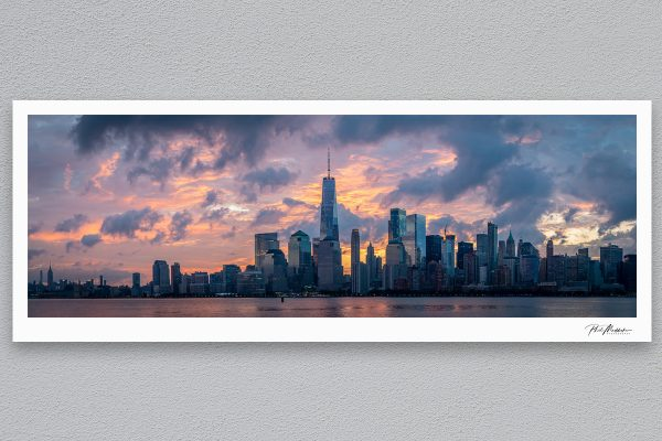 Manhattan - New York - Framed