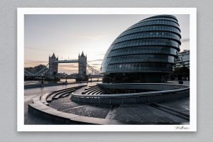 Old and New - London - Framed