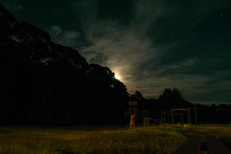 Trying to Photograph the stars in Australia