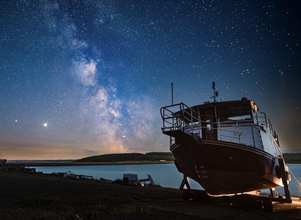 Kielder Water Milky Way