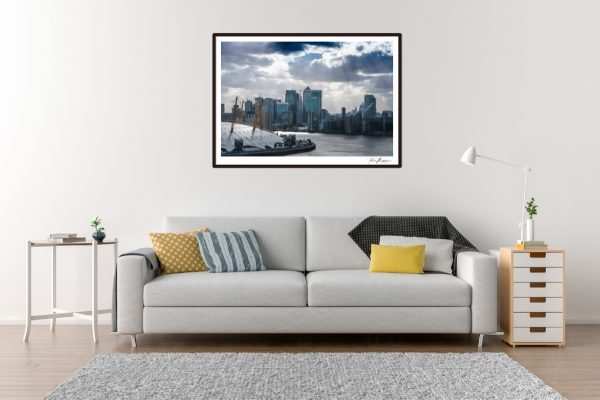 Canary Wharf - Living Room Example