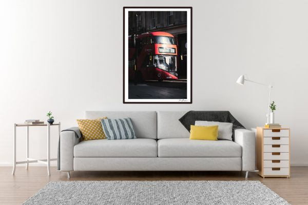 London Bus - Living Room Example