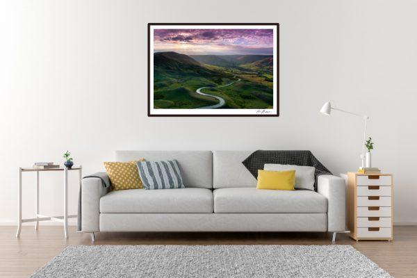 Purple Skies MamTor - Living Room Example