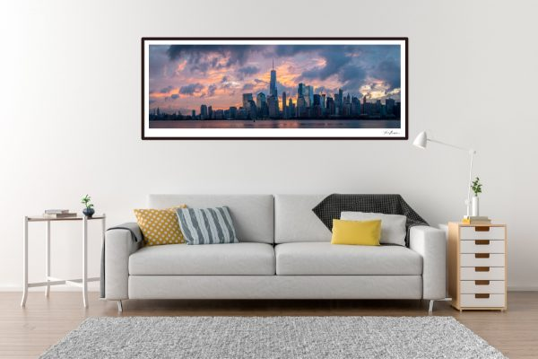 New York Panorama - Living Room Example