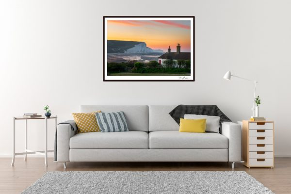 Seven Sisters Sunrise - Living Room Example
