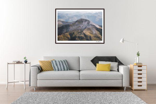 Sgurr-a-Mhaim - Scotland - Living Room Example